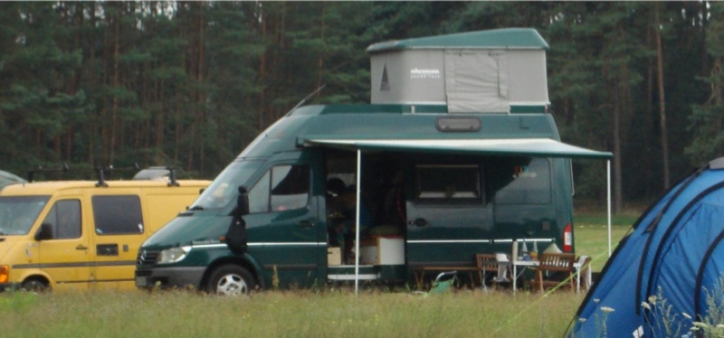 mercedes sprinter wohnmobil 316 cdi dachzelt solar etc ebay. Black Bedroom Furniture Sets. Home Design Ideas